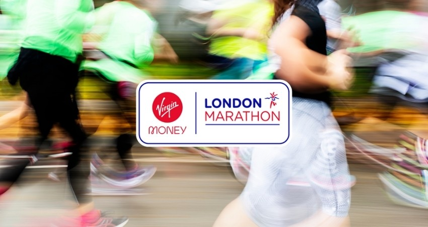 London Marathon Charity Banner