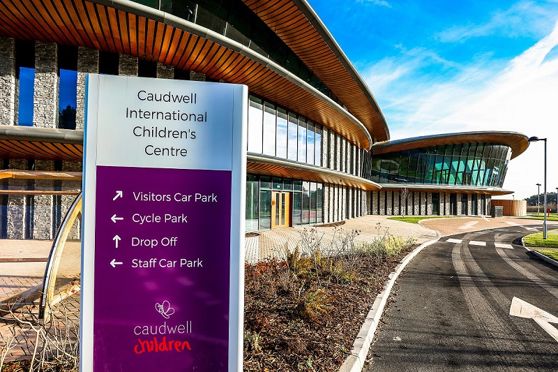 Image shows the Caudwell International Children's Centre - the headquarters of disability charity Caudwell Children.