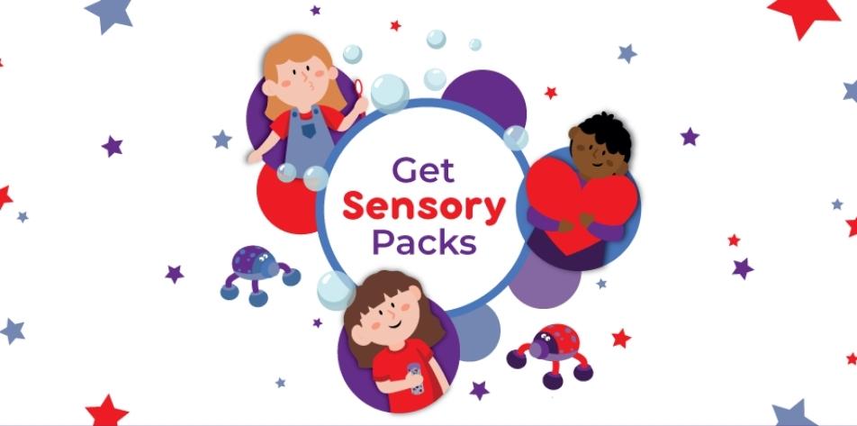 Get Sensory Packs Banner