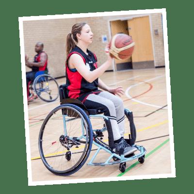 Darya Wheelchair Basketball